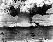 Physics Photos - Atomic Bomb Test, 1946 by Granger