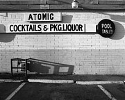 Atomic Bomb Prints - Atomic Liquors Las Veags Print by Jan Faul