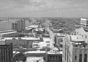 City Scape Metal Prints - Atop the Guardian  Metal Print by Michael Peychich