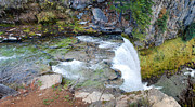 Medford Photos - Atop Tumalo Falls by Twenty Two North Photography