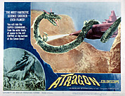 1963 Movies Prints - Atragon, Aka Kaitei Gunkan, 1963 Print by Everett