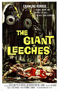 1959 Movies Framed Prints - Attack Of The Giant Leeches Aka The Framed Print by Everett