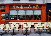 Paris Digital Art Posters - Au Bourguignon du Marais Poster by John Galbo