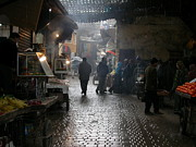 Food Vendors Prints - Au souk Print by Sophie Vigneault