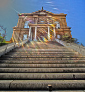 Historic Site Art - Auburn Courthouse by Cheryl Young
