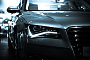 Out Of This World Posters - Audi A8 Poster by Syed Aqueel