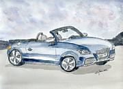 Audi Tt Print by Eva Ason