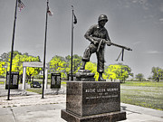 War Memorial Photos - Audie Murphy by Douglas Barnard