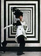Op Art Photo Posters - Audrey Hepburn, 1964 Poster by Granger