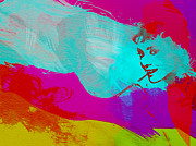Art Film Paintings - Audrey Hepburn by Irina  March