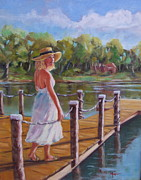 Lake Wylie Prints - Audry Print by Martha Manco