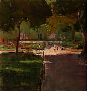 Peter Salwen - August in Stuyvesant...