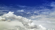 Clouds Photographs Digital Art - August Monsoon Clouds 2 by Methune Hively