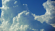 Clouds Photographs Digital Art - August Monsoon Clouds 3 by Methune Hively