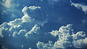 Clouds Photographs Digital Art - August Monsoon Clouds 4 by Methune Hively
