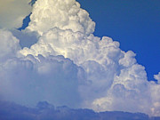 Monsoon Posters - August Monsoon Clouds Poster by Methune Hively