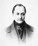 Positivism Posters - Auguste Comte, French Philosopher Poster by