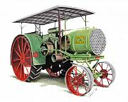 Tractor Originals - Aultman and Taylor Tractor by Ferrel Cordle