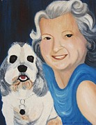 Suzanne  Marie Leclair - Aunt Georgie and Spot