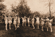 Ballet Dancers Photo Prints - Aunt Marys Ballet Class Print by Deborah Willard