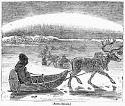 Aurora Borealis, 1833 Print by Granger