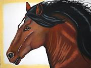 Horse Art - Aurora by Brenda Wolf