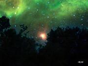 Aurora Nights Print by Mayhem Mediums