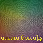Optical Illusion Digital Art Posters - Aurura Borealis Poster by Visual Artist  Frank Bonilla