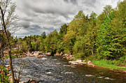 Lake Placid Ny Photo Posters - AuSable River 5500 Poster by Guy Whiteley