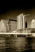 Austin Skyline Art - Austin City Limits by Tonja Ryan