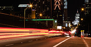 Timelapse Prints - Austin Lights Print by Chris Multop