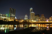 Austin Skyline Art - Austin Skyline by Jennifer Cannon