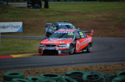 Australian Ford Framed Prints - Australian Racing Car Driver Craig Lowndes Framed Print by Cheryl Hall