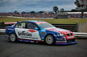 Australian Ford Photos - Australian Racing Car Driver Greg Murphy by Cheryl Hall