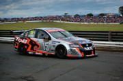 Australian Ford Photos - Australian Racing Car Driver Rick Kelly by Cheryl Hall