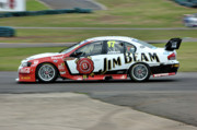 Australian Ford Photos - Australian Racing Car Driver Steven Johnson by Cheryl Hall