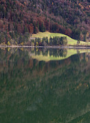 Y120831 Art - Austria, Salzburg, View Of Hintersee Lake During Autumn by Westend61