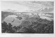 Wasserburg Framed Prints - Austria: Wasserburg, 1821 Framed Print by Granger
