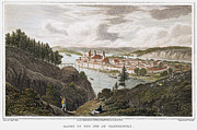 Wasserburg Framed Prints - Austria: Wasserburg, 1822 Framed Print by Granger