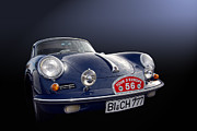 Garage Wall Art Prints - Authentic 356 Print by Bill Dutting