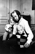 Controversial Photos - Author Alexander Solzhenitsyn With Sons by Everett