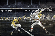 Football Paintings - Automatic Otto by Rich Marks