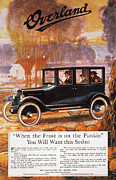 1920 Framed Prints - Automobile Ad, 1920 Framed Print by Granger
