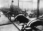 Working Class Prints - Automobile Manufacturing Print by Granger