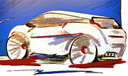 Vision Mixed Media - Automotivation by Zbigniew Rusin