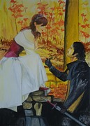 Propose Paintings - Autumn and your thought by Anil Singh
