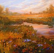 Jan Blencowe Paintings - Autumn Arrives by Jan Blencowe