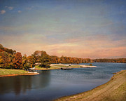Autumn Landscape Art - Autumn at Lake Graham 2 by Jai Johnson