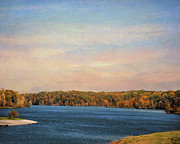 Autumn Landscape Art - Autumn at Lake Graham by Jai Johnson