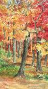 Fall Leaves Posters - Autumn Poster by Barbel Amos